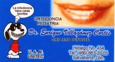 Enrique Villagómez Cortés, dentista con más de 25 años de experiencia