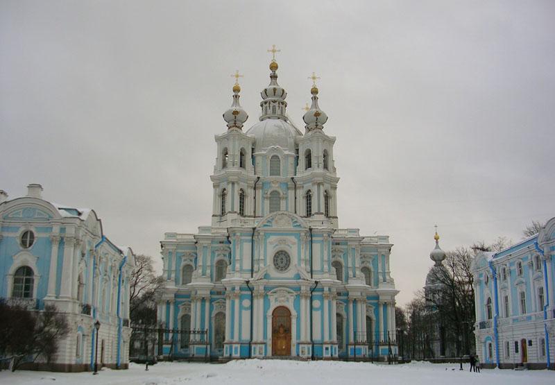 Санкт-Петербург Смольный собор