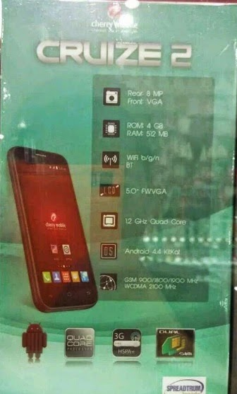 Cherry Mobile Cruize 2, 5-inch Quad Core Kitkat Phablet for Php3,500