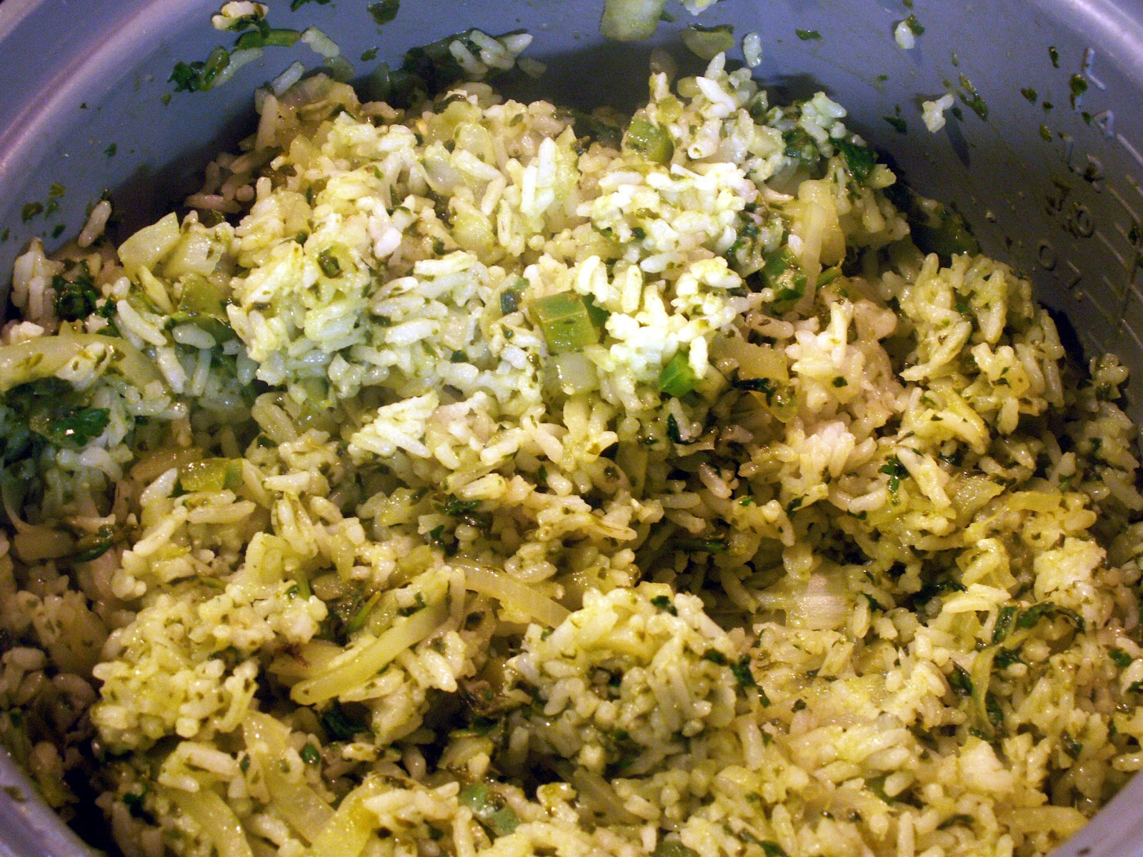Mom, What's For Dinner?: Mexican Green Rice