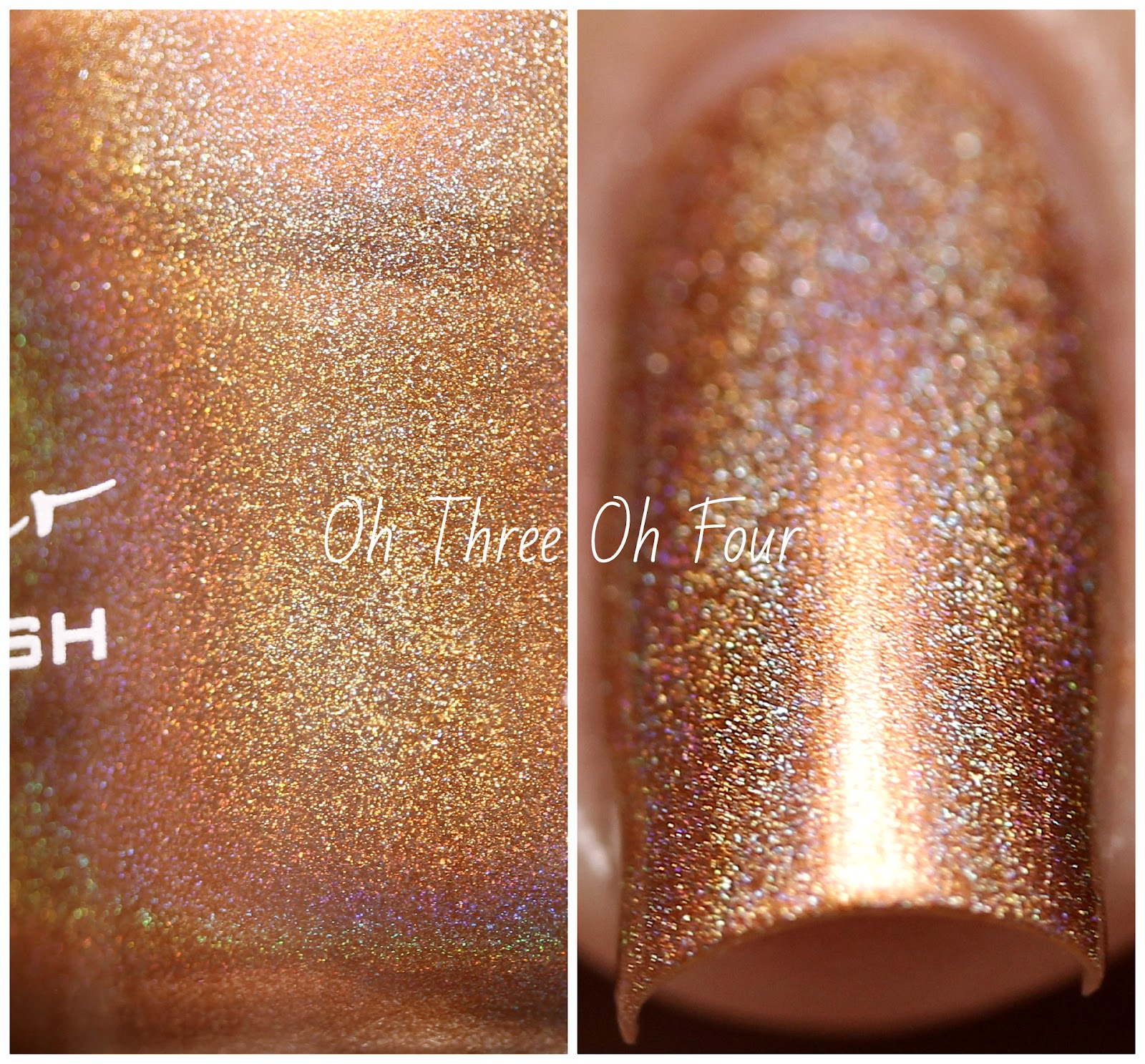 KBShimmer Run! It's The Coppers! Swatch
