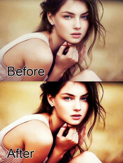 Efek Glamour Photoshop