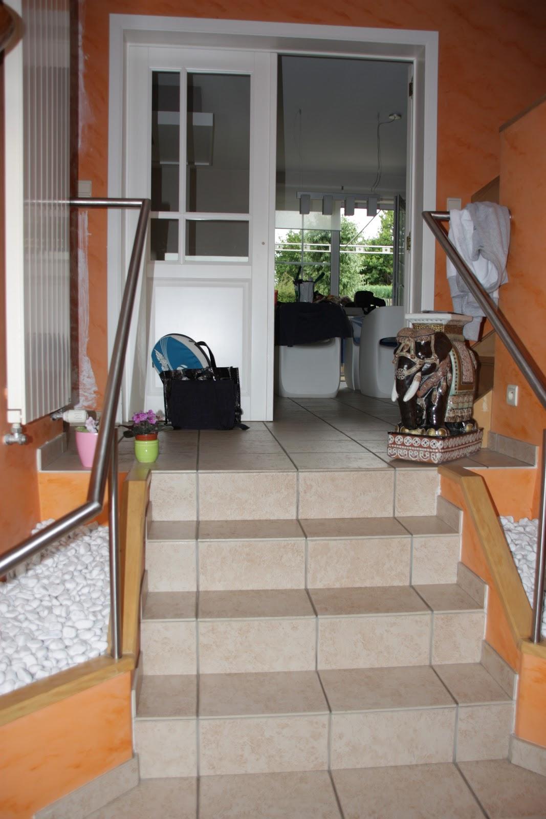 D coration et architecture d 39 int rieur hall et cage d - Deco cage escalier interieur ...