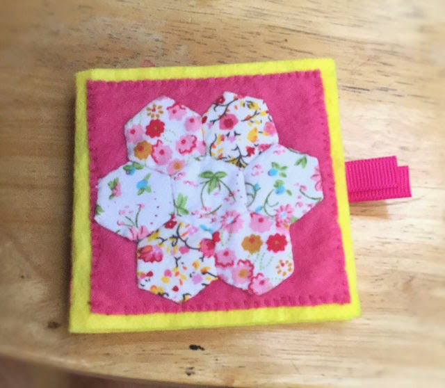 patchwork sewing needle case