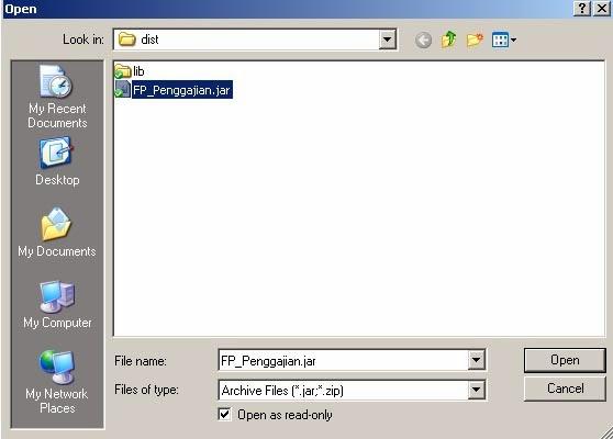 Cara Merubah File Jar Java Menjadi Exe