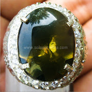 Cincin Permata Green Fire Opal -SP778