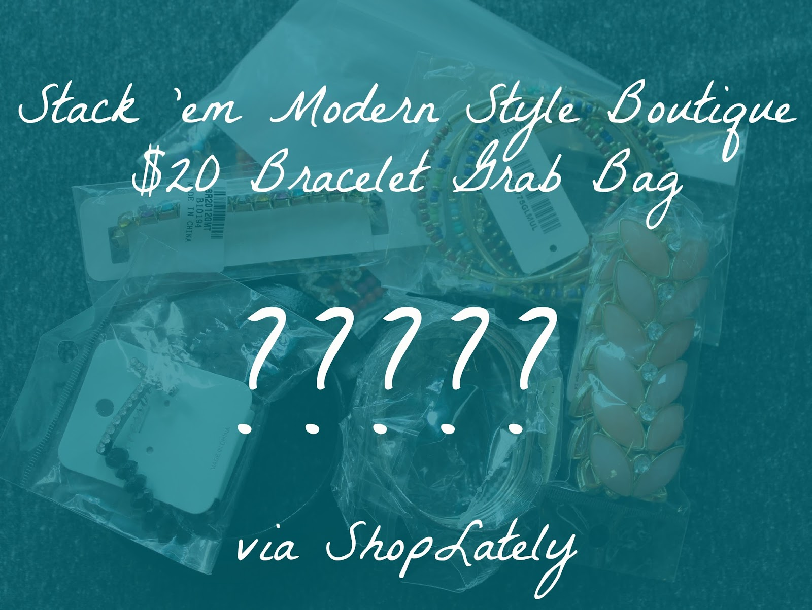 Stack 'em Modern Style Mystery Bracelet Grab Bag (via ShopLately)