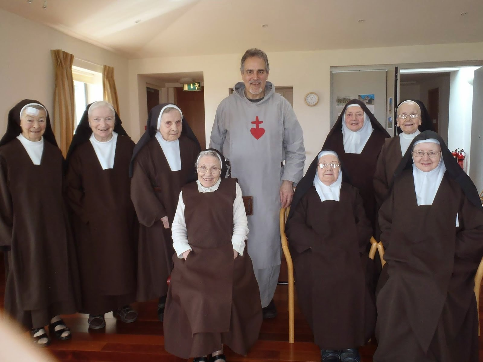 Father Michael Shields of The Heart of Jesus  May 21 2015 The Poor Claire Sisters Ireland