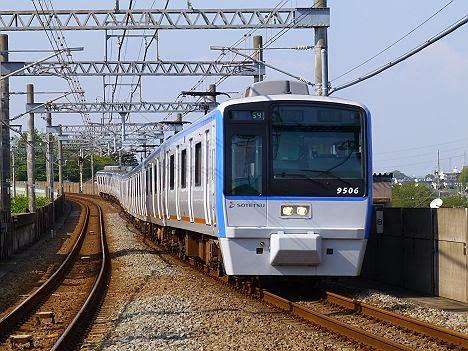 快速 湘南台行き9000系