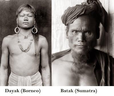 dayak and Batak