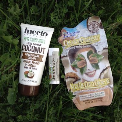X3 Coconut Lip Balm inecto Naturals coconut hand & nail cream Montagne Jeunesse Creamy Coconut masque