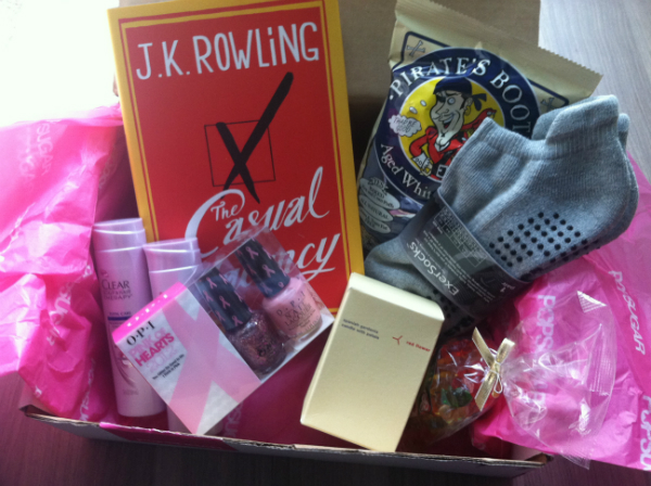 Pop Sugar Must Have Box - PopSugar October 2012 Review - Monthly Women's Subscription Boxes
