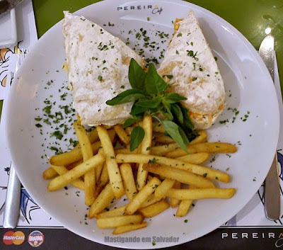 Pereira Café: Sanduiche de Salmão