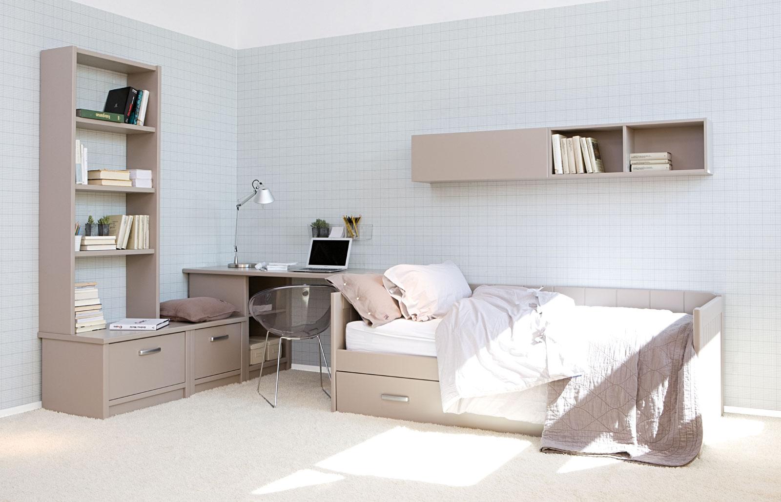 10 dormitorios juveniles modernos ideas para decorar dise ar y mejorar tu casa - Disenar dormitorio juvenil ...