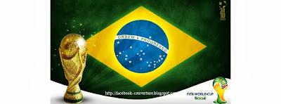 Couverture facebook  brésil 2014