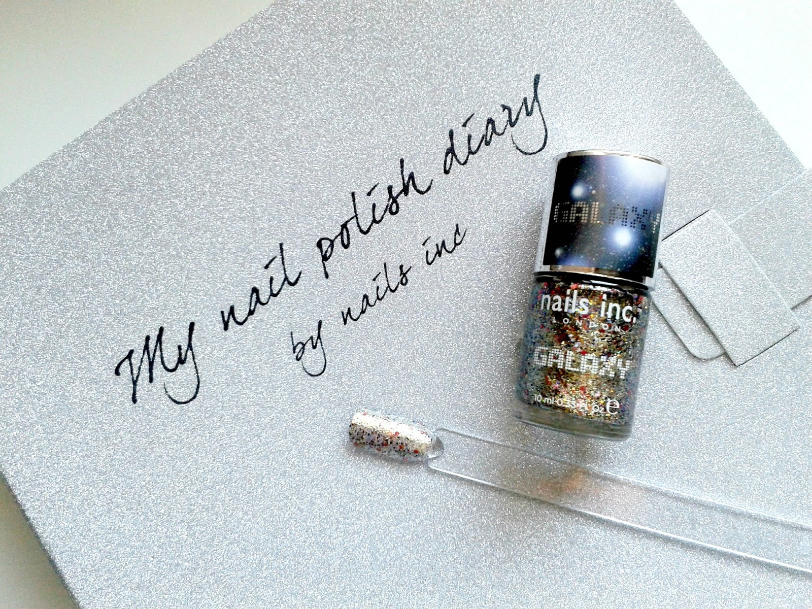 Nails Inc Knightsbridge Road Galaxy Polish Nail Diary Review