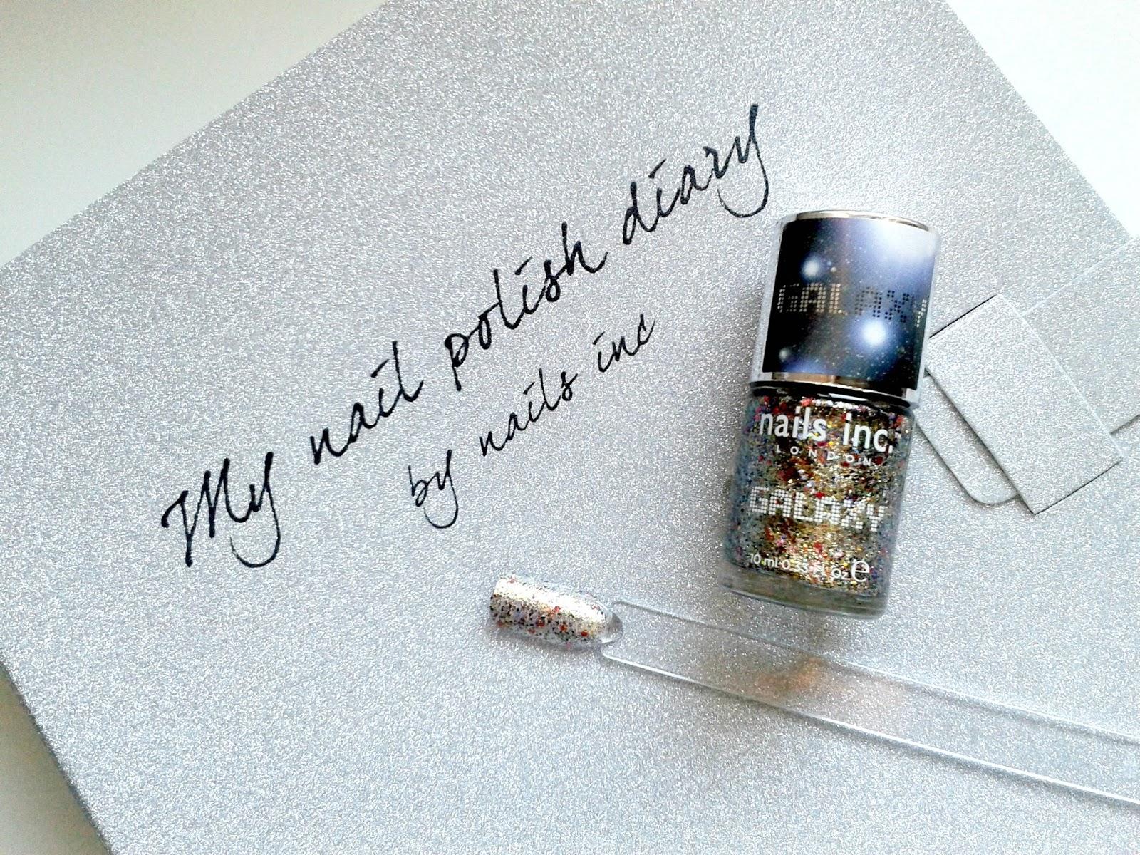 Nails Inc Knightsbridge Road Galaxy Polish Nail Diary Review