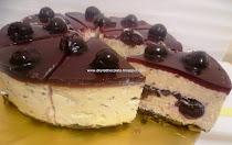 BLACK FOREST CHEESE CAKE