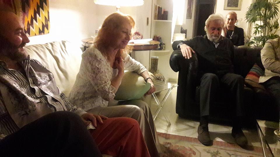 Carmen Troncoso lee sus poemas