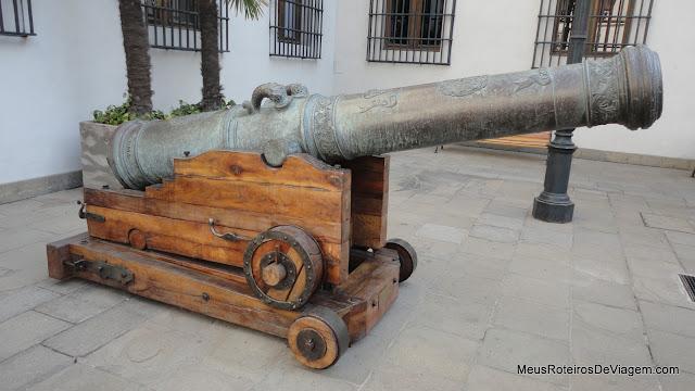 Patio de Los Cañones - Palacio de La Moneda