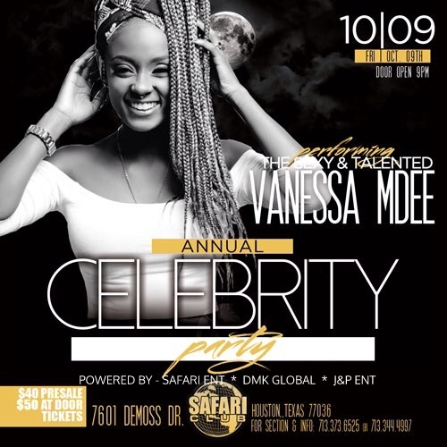 "Diamond Platnumz, Vanessa Mdee na Ommy Dimpoz ndani ya ""Celebrity Party"" Houston Texas Ijumaa hii 0ct 9"