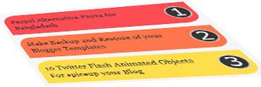 demo of popular post widget
