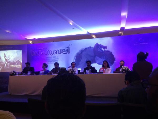 Baahubali Malayalam Audio Launch Live | Rajamouli | Prabhas | Rana | Anushka