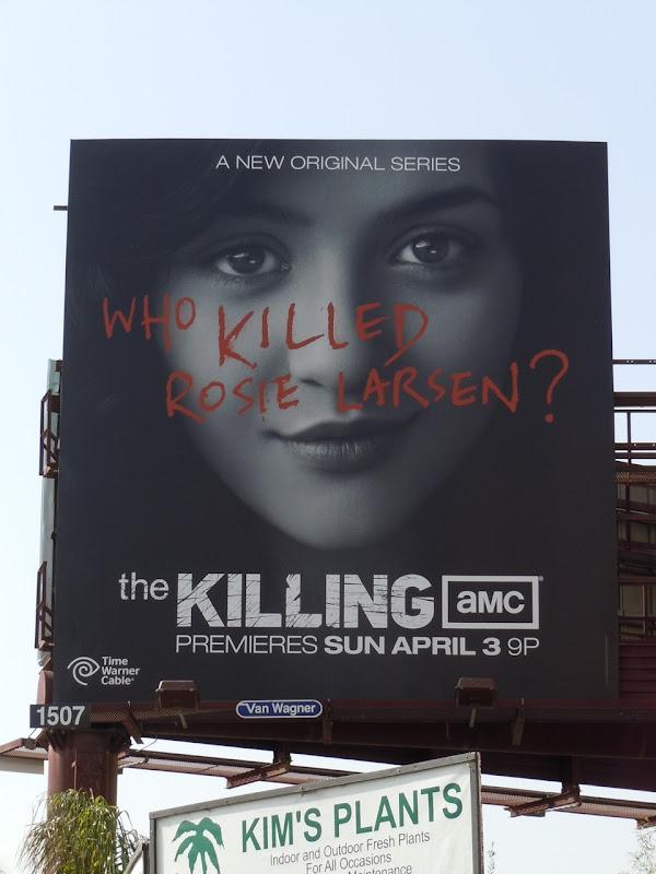 The Killing AMC TV billboard