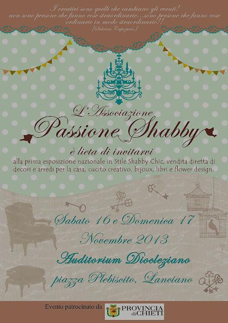 Passione Shabby evento, mostra mercato dedicata allo stile Shabby Chic