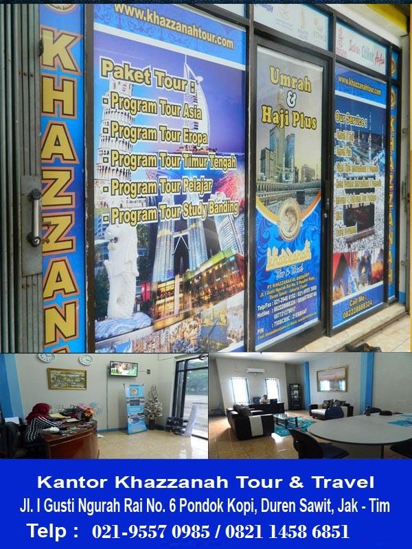 KANTOR PUSAT  KHAZZANAH TOURS TRAVEL