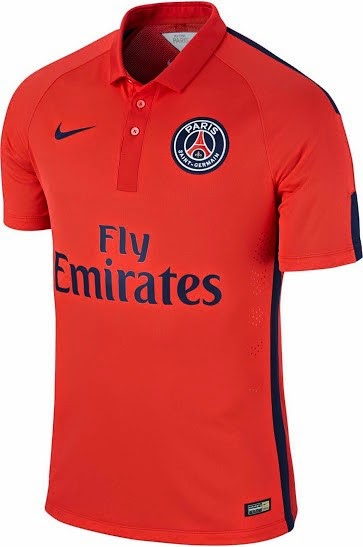 Jersey official paris sain germain third terbaru musim 2015