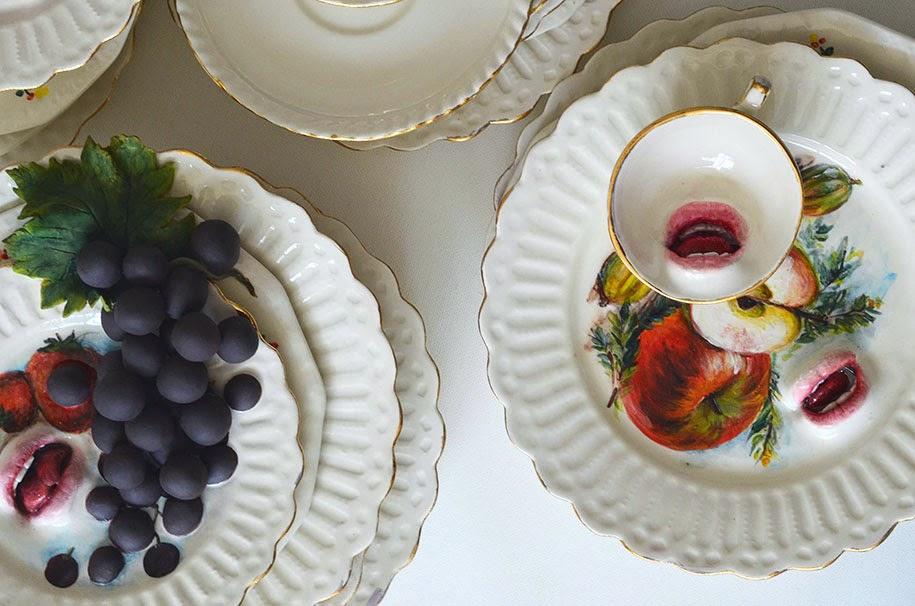 creepy ceramic tableware ronit baranga-6