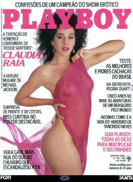 Cláudia Raia - Fotos Playboy 1985