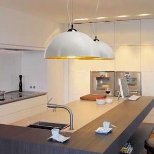 Lamparas para cocina modernas tu cocina y ba o - Lamparas cocina techo ...