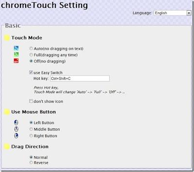 extensão ChromeTouch,baixar,chrome,gogle