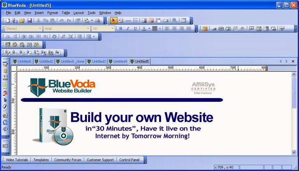 free download website builder software full version