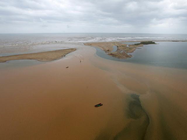 O que está acontecendo com o ambiente depois do desastre em Mariana, MG