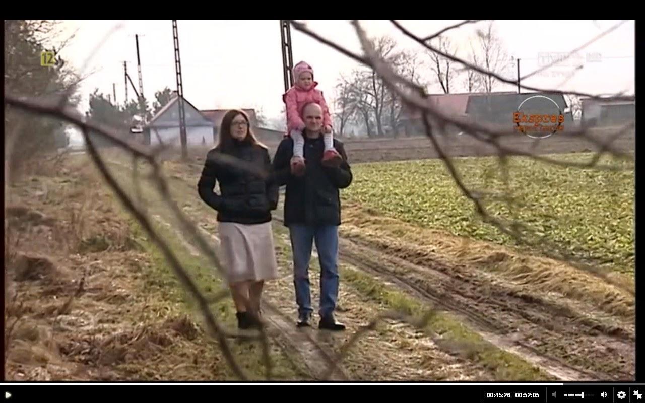 Pani Małgorzata z mężem i młodszą córką (fot. TVP Lublin)