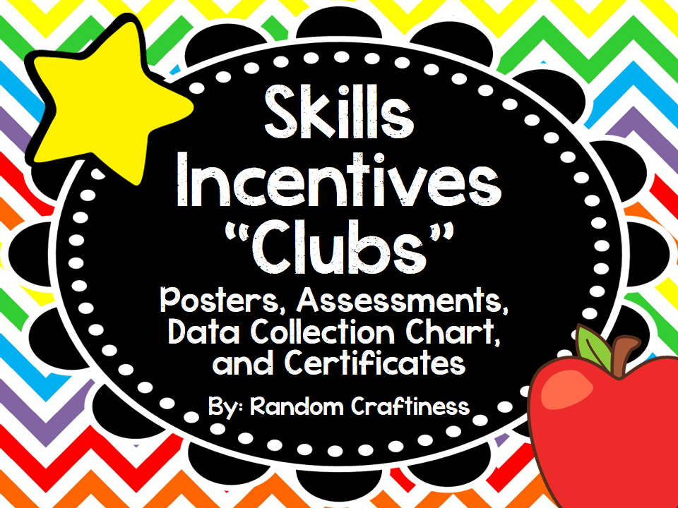http://www.teacherspayteachers.com/Product/Early-Skills-Clubs-Posters-Assessments-Recording-Chart-and-Certificates-978393