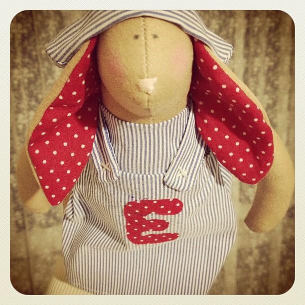 Craft and Decorate Blog - Tilda bunny