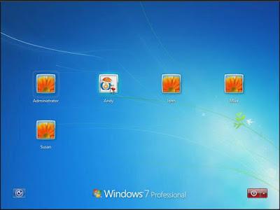 how to change password windows 7 login screen