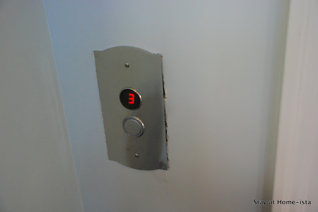 exposed elevator call buttons