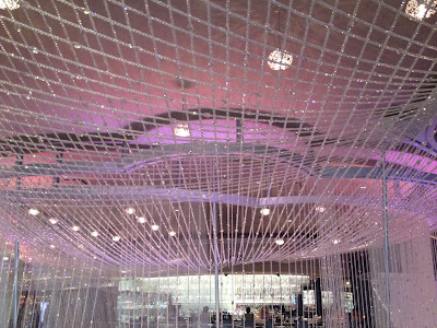 Pink crystals everywhere at the Cosmopolitan
