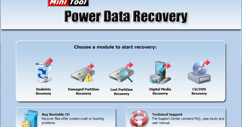 minitool power data recovery 7.0 serial baixaki