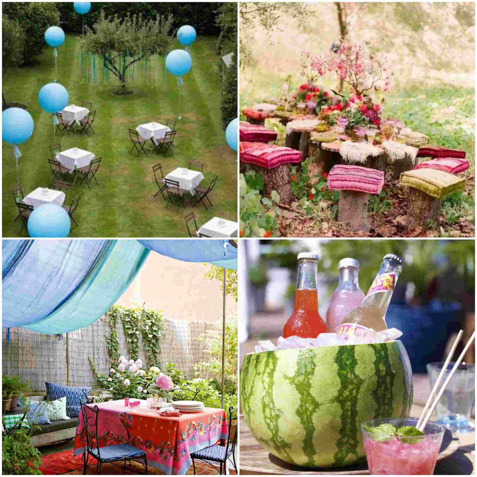 Cool garden party decoration ideas diy fun world for Easy to make garden decorations
