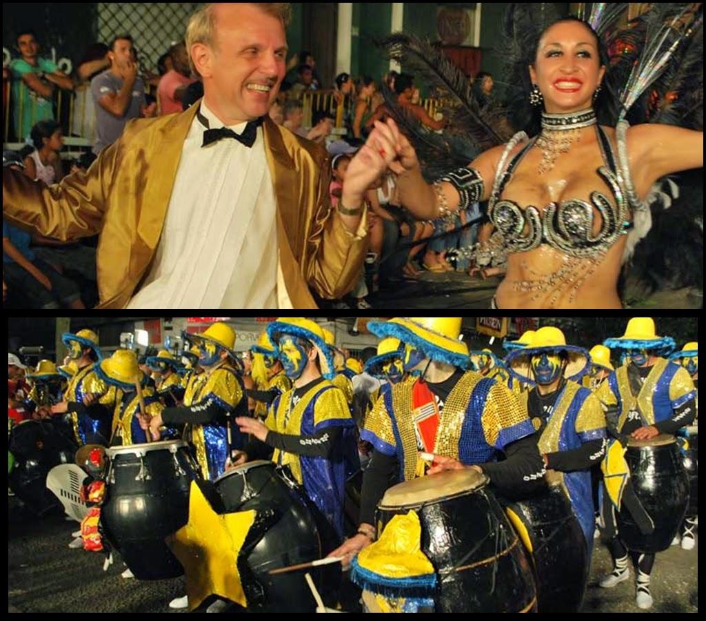 Desfile de Llamadas.Uráfrica.. Montevideo. 2011.