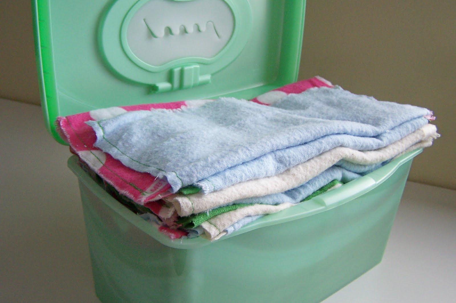 reusable baby wipes diy repurpose relove diy reusable baby wipes