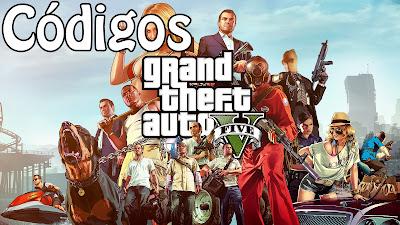 Trucos y códigos del juego Grand Theft Auto V