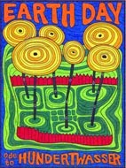 Earth Day Hundertwasser Mural $5