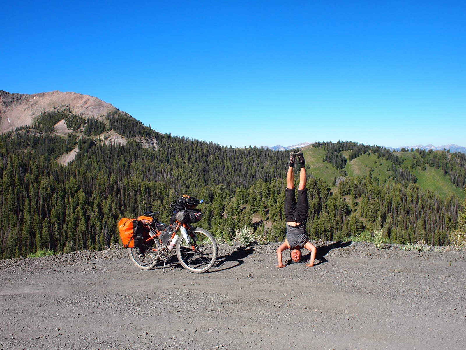 Day 5 Four ish miles Before Dollarhide Summit To Galena Lodge